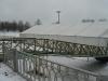 """стадион """"Петровский"""" зимой"""